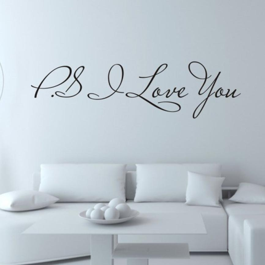 11.11 High Quality I Love You Removable Art Vinyl Mural Home Room Decor Wall Stickers 1.27