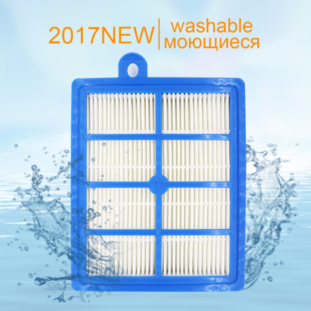 Фотография replacement h12 h13 washable and reusable hepa filter for philips electrolux efh12w aef12w fc8031 el012w vacuum clener parts