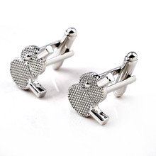 Table Tennis Board Cuff Links Creative Silver Racket Cufflinks Men Fashion Casual Cufflink High Quality Personality Cuff Buttons