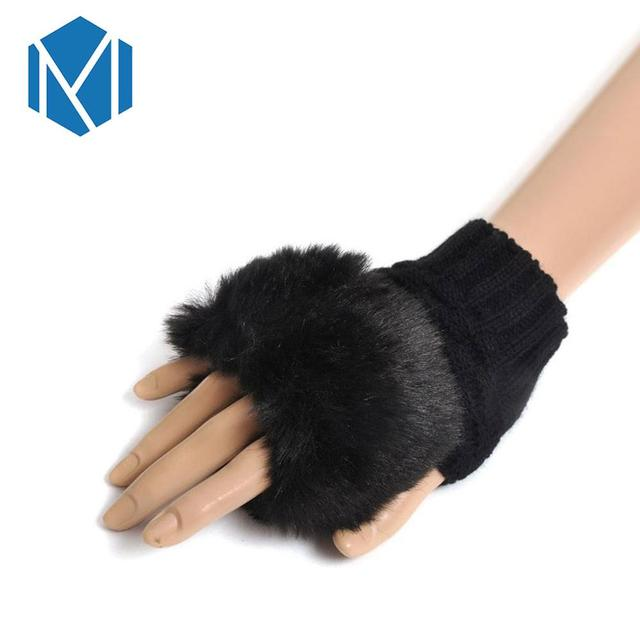 Fur Winter Women Gloves...