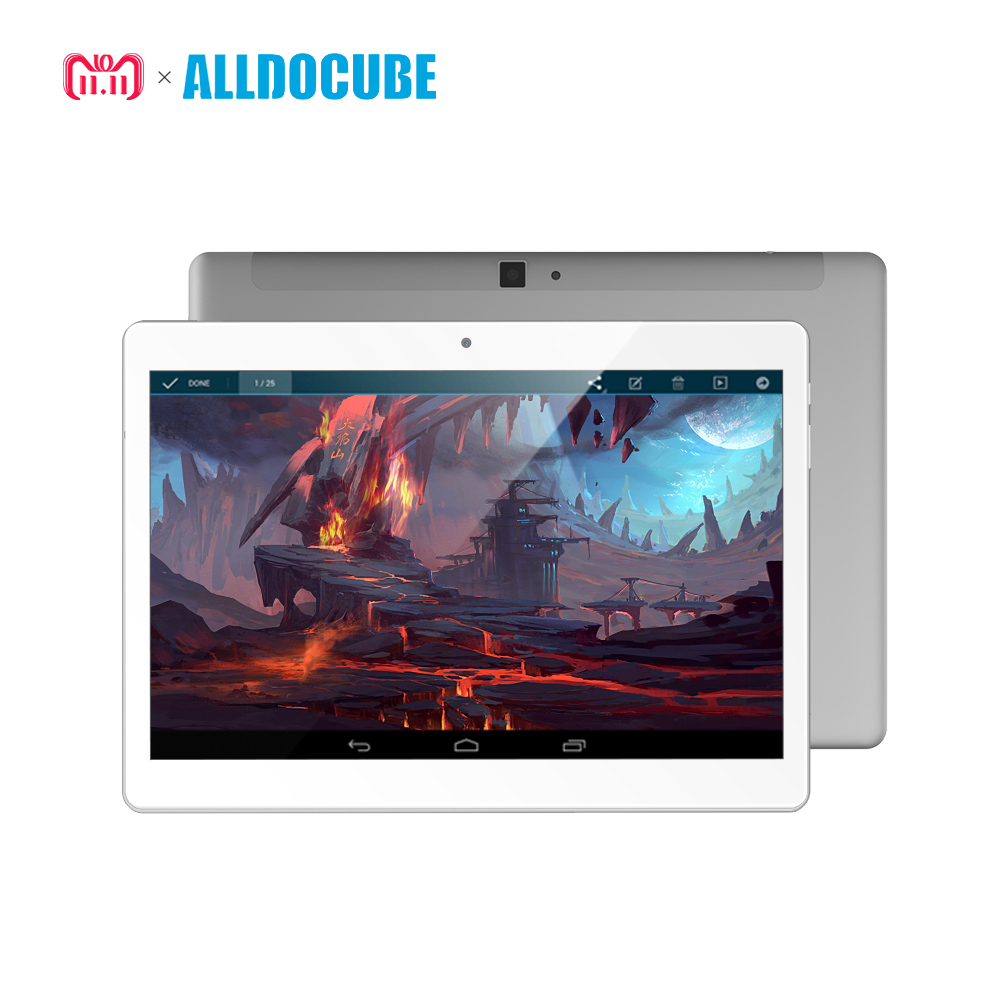 ALLDOCUBE M5 10,1 zoll 4g Anruf Tablet PC 2560*1600 IPS Android 8.0 MTK X20 Deca core 4 gb RAM 64 gb ROM 5MP GPS Dual WIFI