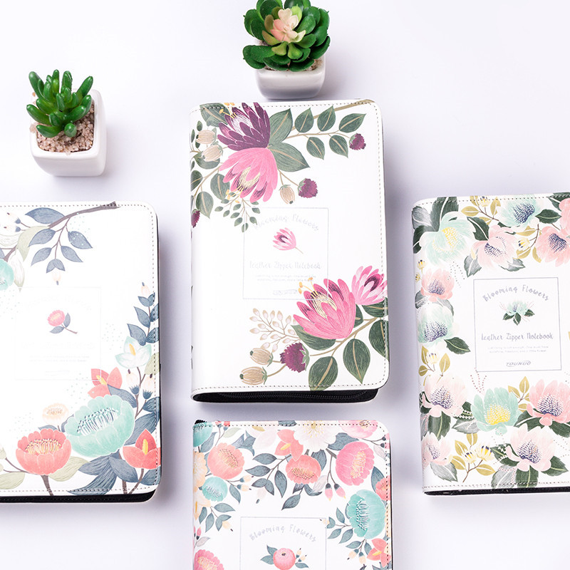 A6/A5 fashion trend cahier scolaire notebook travelers notebook filofax spiral notebook school supplies zipper notebook it8712f a hxs