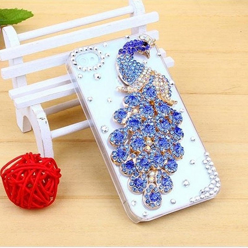 buy online 36aaf cc54a US $2.16 |Aliexpress.com : Buy Luxury Rhinestone Peacock Phone Back Case  Cover for iPhone 6 Plus 5 5S SE 7 Plus from Reliable cover for iphone ...