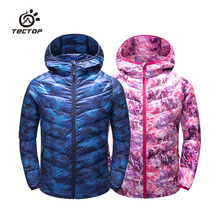 Tectop autumn and winter Camouflage down coat paragraph child breathable comfortable thermal