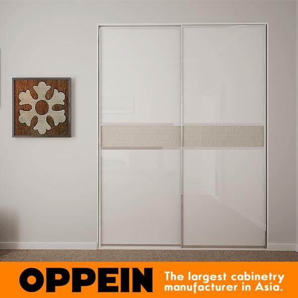 Etonnant Modern Small 2 Sliding Doors Bedroom Furniture Almirah Designs