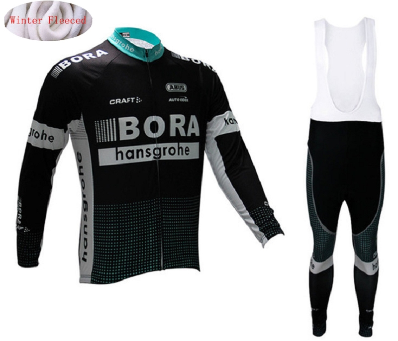 Winter cycling clothing BRA 2017 thermal cycling jersey long fleece maillot ropa ciclismo cycling jersey bib pants warm black thermal fleece cycling clothing winter fleece long adequate quality cycling jersey bicycle clothing cc5081