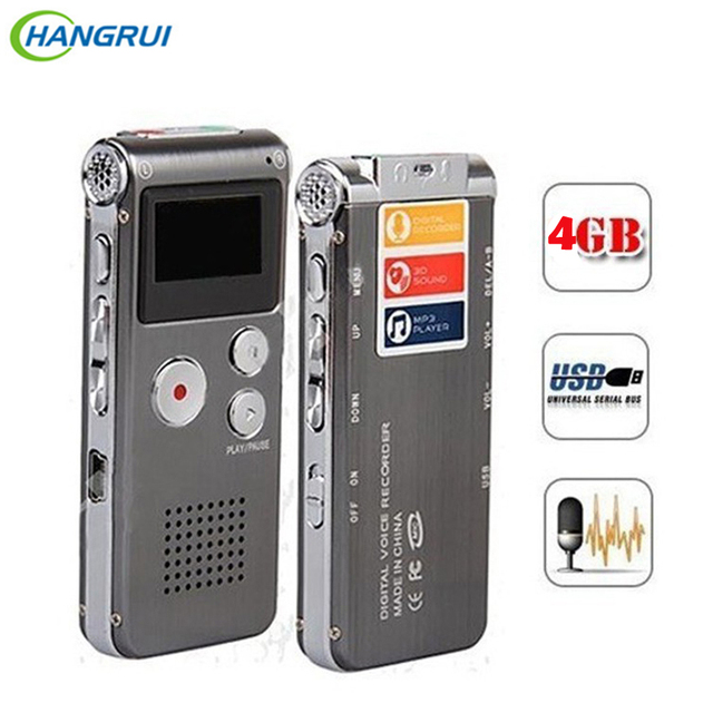 8GB Voice Recorder USB Flash Digital Audio Professional Voice Activated Dictaphone Support 650Hr Dictaphone MP3 Player