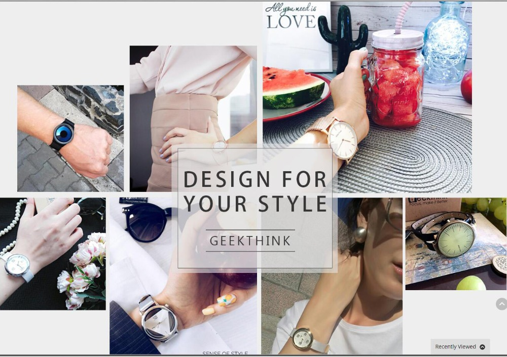Women Watches Quartz Hollow Analog Stainless Steel Mesh Band Rose Gold Luxury Brand Design Wristwatch Fashion Dress New 13