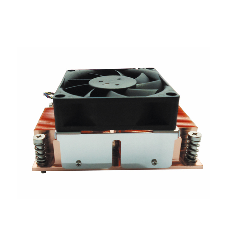 Image 4 - ALSEYE CPU Cooler TDP 115W 2U Server Cooler Pure Copper Base with