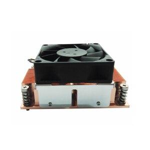 Image 4 - ALSEYE enfriador de CPU TDP 115W 2U, Base de cobre puro con cojinete de bolas, ventilador de refrigeración, 12V, 4 pines