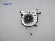 купить Free Shipping For Panasonic UDQFRSH01CQU AB0600HX0403Z1 FIT13A SVF13 F13N SVF13N SVF13N18SC DC 5V 0.22A 3-wire laptop CPU fan по цене 618.75 рублей