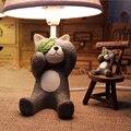 Alta Calidad Decorativa Niños Lámparas de Escritorio del Led E14 110 V-220 V Niños Sala de Estudio Lámpara de Mesa de Interruptor de Botón Led Lámpara de lectura
