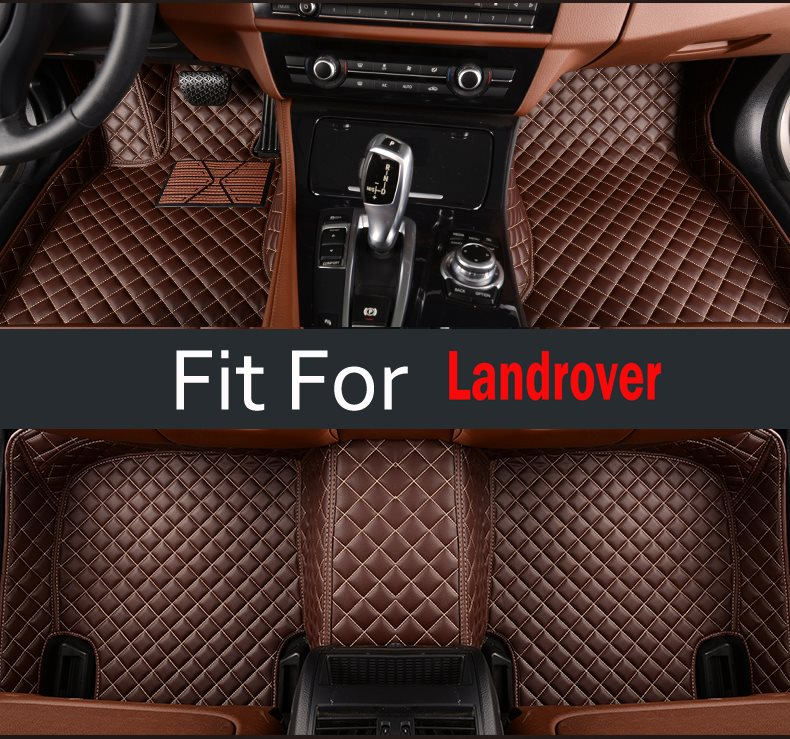 Women Car Interiors Floor Mats For Land Rover Discovery 3 4 Freelander Sport Range Rover Sport Interior Decoration Carpet