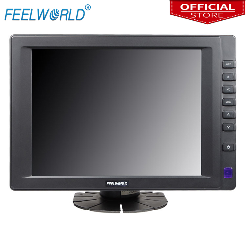 Feelworld FW813AHT 8 Inch 800x600 TFT LCD Touchscreen Monitor with HDMI VGA Video Audio Input 8 LCD Touch Screen Monitors