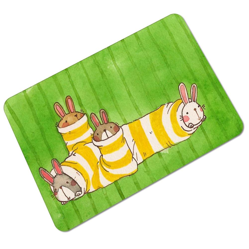 Zeegle Lustige Fußmatten Gummi Fußmatten Teppiche Für Kinder Wasser ...