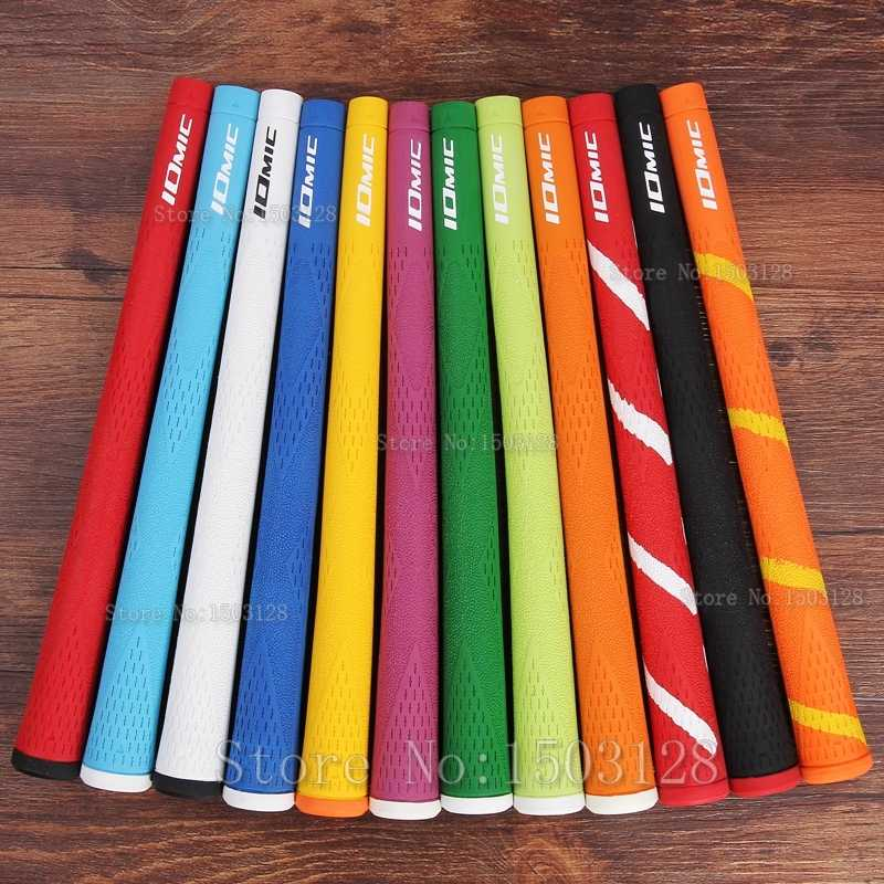 Siran New IOMIC Golf grips High quality rubber Golf irons grips 10 colors in choice 8pcs/lot Golf clubs grips Free shipping