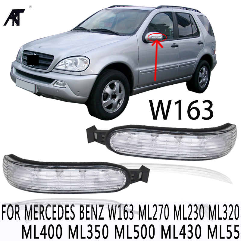 High quality Door Mirror Turn Signal Light for Mercedes Benz W163 ML270 ML230 ML320 ML400 ML350 ML500 ML430 ML55 цена