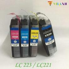 LC223 Compatible Ink Cartridges For Brother MFC-J5720 MFC-J4120 MFC-J4620 MFC-J5320 Printer цена в Москве и Питере