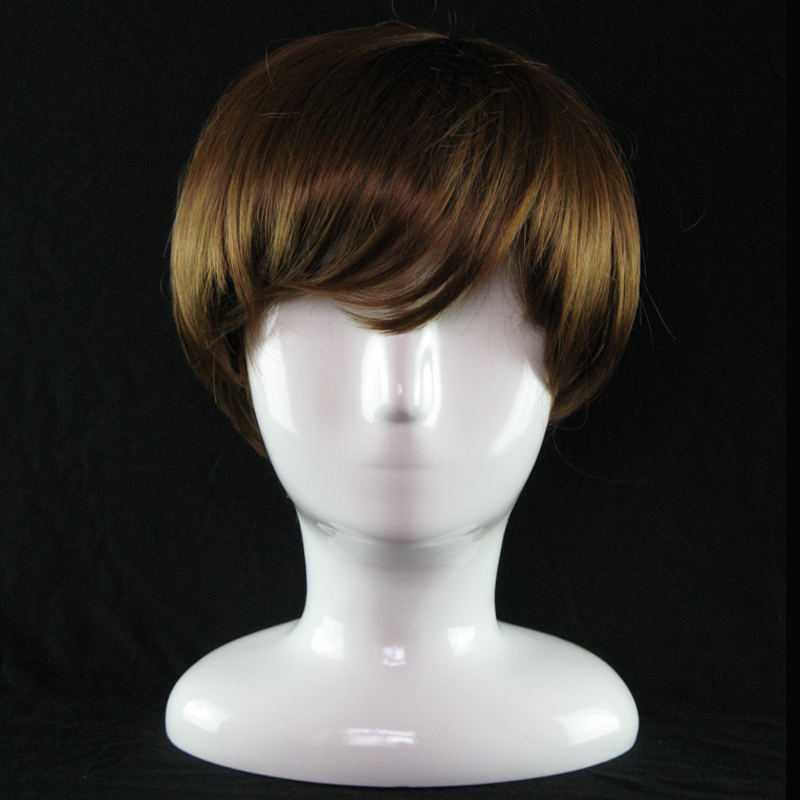 Abstract White Gloss Mannequin Manikin Head Model Hat Glasses VR Display Mannequin Head Hat Wig Display Stand Rack (6)
