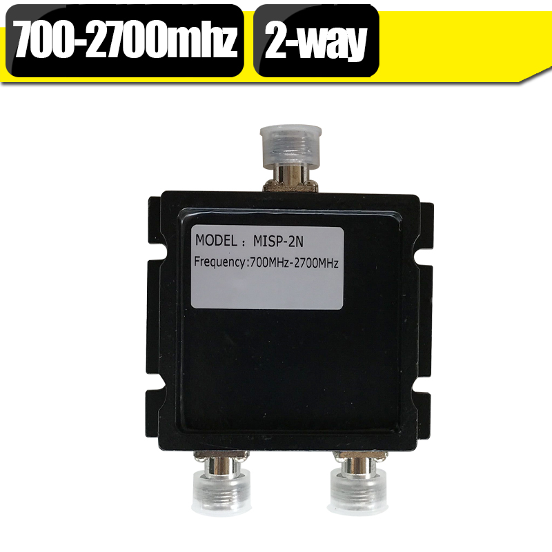 2 Way Divider 700mhz~2700mhz 2-way Micro-Strip Power Splitter For Mobile Phone Signal Booster / Cellphone Amplifier / Repeater