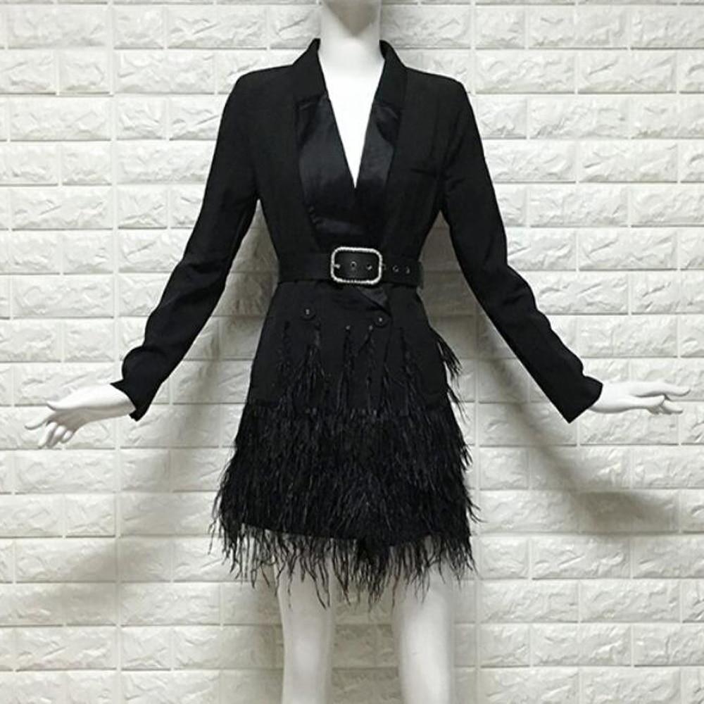 Blazer 2019 Frühling Herbst Neue Frauen Casual Patchwork Blazer Feminino