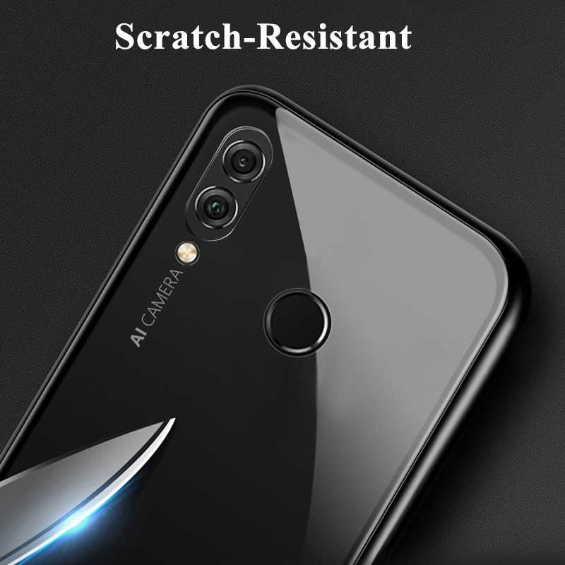 magnetic flip case for huawei honor 8X case clear tempered glass back cover  metal frame bumper coque honor 8X Max 8xmax honor8x