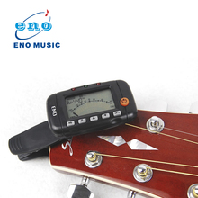 ENO EMT-320 3 in 1 LCD Clip-on Digital Guitar Tuner Electronic Chromatic Acoustic Guitar Tuner Metronome Tone Generator