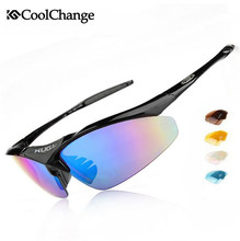 Coolchange Outdoor Sports MTB Polarized Cycling Eyewear Bike Goggles Bicycle Cycling Glasses Cycling Sunglasses Ciclismo