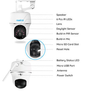Image 5 - Reolink Argus PT 1080P WiFi Camera Wireless PT Battery Powered Security Camera for Outdoor Indoor Security