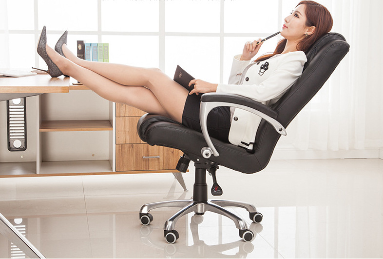 High Quality Ergonomic Executive Office Chair Computer Chair Adjustable Lifting Swivel bureaustoel ergonomisch sedie ufficio 240340 high quality back pillow office chair 3d handrail function computer household ergonomic chair 360 degree rotating seat