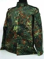 Новые Военная Униформа Камуфляж BDU форма Тактический Airsoft Wargame армейские костюмы пособия по немецкому языку камуфляж