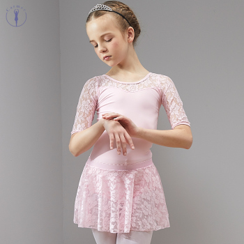Ballet Dress Dance Dress Tutu Ballet for Girls Kids Children High Quality Short Sleeves Ballerina Tulle Dance цена 2017