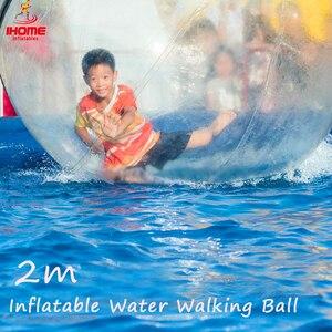Image 4 - Jia Inf 1.3 3 M Pvc Opblaasbare Water Lopen Bal Slijtvaste Water Speelgoed Dans Bal Met Rits voor Zwembad Outdoor