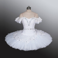 2014 Women/Adult /Child/Kid Ballet White Ballet Tutu,Girls Professional Dresses ,Classical Tutu Skirts For Competition BT9001