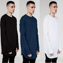 Hirigin 2017 Summer/Autumn Long Sleeve Warm T-Shirts Mens Fashion Solid Color T-Shirt  Hot Men Casual Slim Fit Outwear100%Cotton
