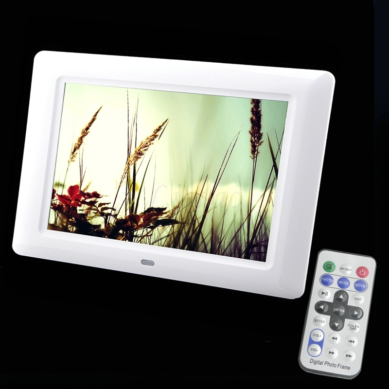 7 pulgadas TFT pantalla LED de alta definición digital de fotos ...