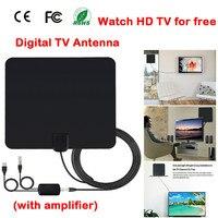 tv antenna dvb-t2 Indoor HD Digital TV Antenna with 50 Mile Long Range Amplifier HDTV Signal Booster Upgraded Version For DVB T2