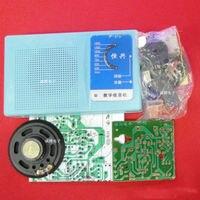 DIY Kits Superheterodyne Radio Receiver 6 Transistor Sch Case W Speaker