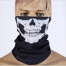 Halloween Skull Skeleton Outdoor font b Bicycle b font Multi Function Headwear Hat Scarf Half Face