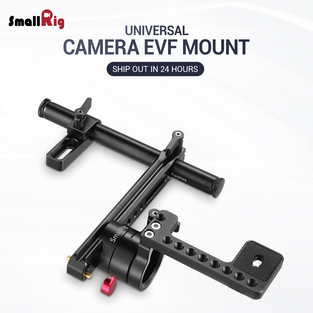 SmallRig DSLR Camera EVF Mount with NATO Rail Adjustable 1903