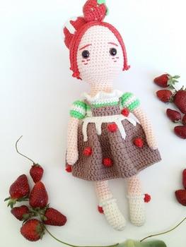 Strawberry – Amigurumi Patterns | 350x263