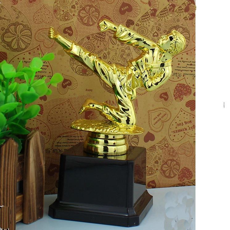 Новости тыле тхэквондо Кубок Трофи премии ТКД трофей, Кубок спортивных соревнований победитель таблицы декора-16 см высокий