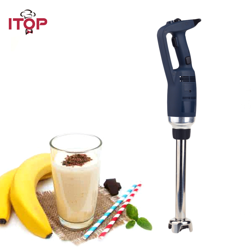ITOP 350W Commercial Heavy Duty Immersion Blender Variable Speed Hand held Smoothies Blender Food Mixers 110V 220V 240V цена и фото