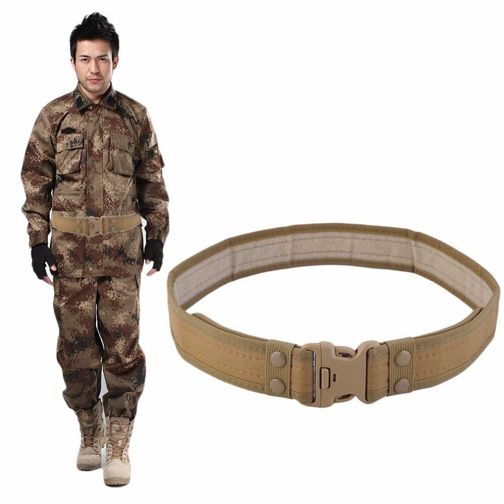 Cinturón táctico Ajustable Deporte Táctico Cinturón De Nylon Correa de Campo Caz