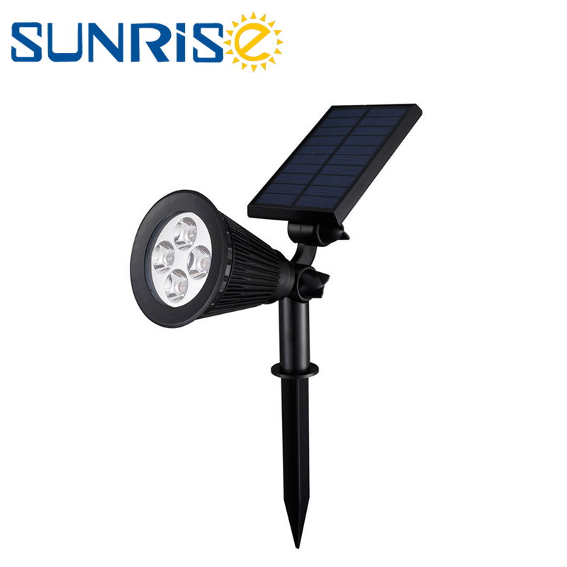 Solar power Street Light Waterproof IP65 Outdoor LED Flood Light Garden Lawn Lamp Spotlight