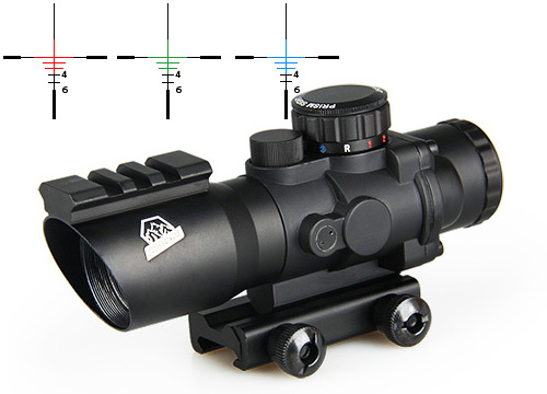 Canis Latrans Tactical 4x32 Dual Ill. Tactical Compact Scope Spotting Scope For Hunting gs1-0187Canis Latrans Tactical 4x32 Dual Ill. Tactical Compact Scope Spotting Scope For Hunting gs1-0187