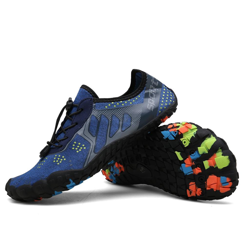 2019 Hot Sale Men Aqua Shoes Summer Breathable Non Slip Five Toe Shoes High Quality Indoor Yoga Unisex Couple Footwear