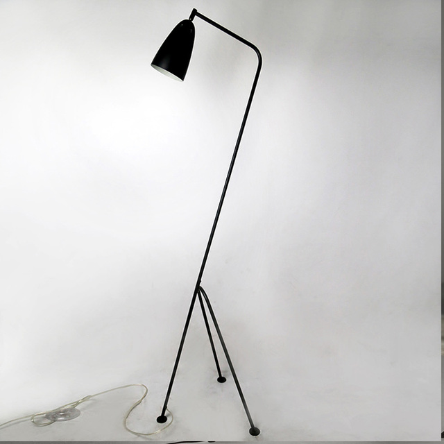 Modern floor lamp black metal lamp shades adjusted angle ac 110v modern floor lamp black metal lamp shades adjusted angle ac 110v 220v for dining room aloadofball Gallery