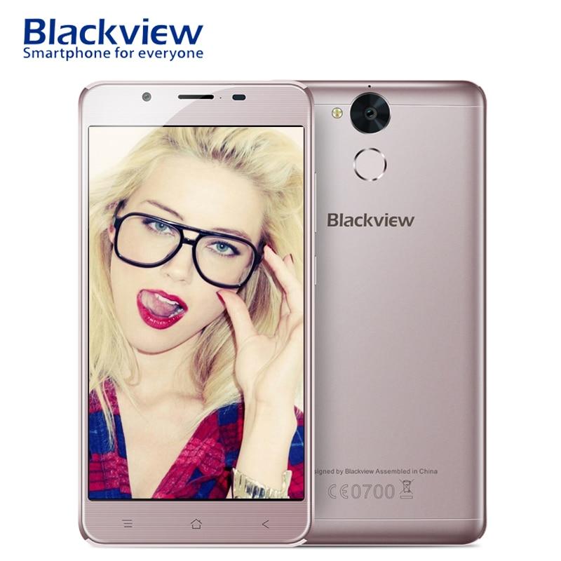 Blackview P2 Lite 5 5 Smartphone 4G LTE Fingerprint Android 7 0 MTK6753 Octa Core 3GB