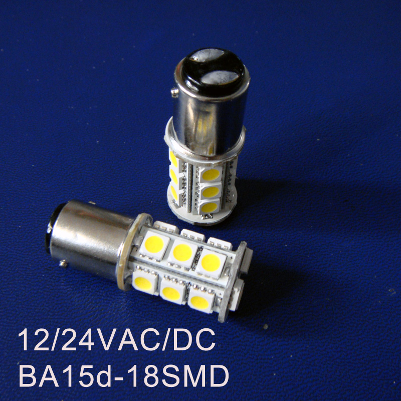 High Quality 12/24VAC/DC 3W 1142 Led Warning Signal Light Bulbs BA15D Led Yacht Ship Boat Lamp Bulbs Free Shipping 100pcs/lot